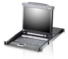 "8 Port 19"" LCD KVMP Switch,"