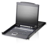 "ATEN 16-Port 19"" LCD KVM Switch (CL1316N-ATA-2XK06DNG)"