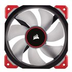 CORSAIR ML120 LED Red 120mm Prem Magnetic Levit. Fan ACCS