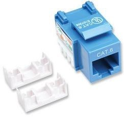 CAT6 BLUE KEYSTONE JACK PUNCH-DOWN