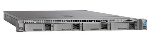 "CISCO UCS C220 M4 High-Density Rack Server (Large Form Factor Disk Drive Model) - Server - kan monteras i rack - 1U - 2-vägs - RAM 0 MB - SAS - hot-swap 3.5"" - ingen HDD - G200e - GigE - inget OS - Bildskär (UCSC-C220-M4L=)"