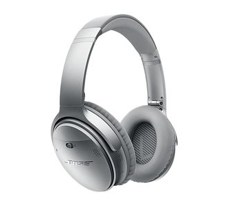 Quiet Comfort 35, Silver NFC Noise Cancelling Headphones,  Bluetooth