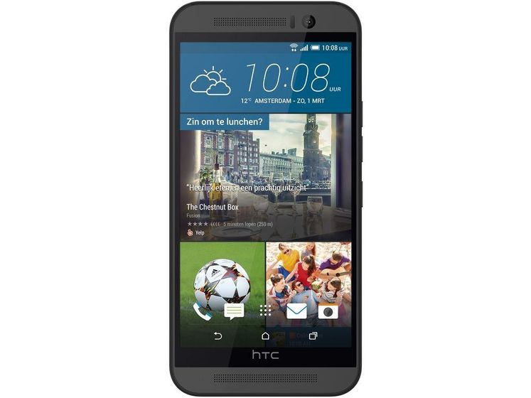 HTC One (M9) PCE, Gun Metal Grey Android/ Sense Prime Camera Edition
