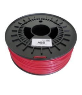 CARTRIDGE ABS 1.75MM RED 2.1KG