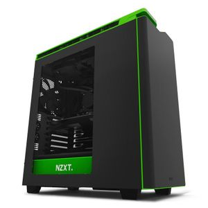 NZXT H440W New Edition Silent Ultra - BL/GREEN (CA-H442W-M9)