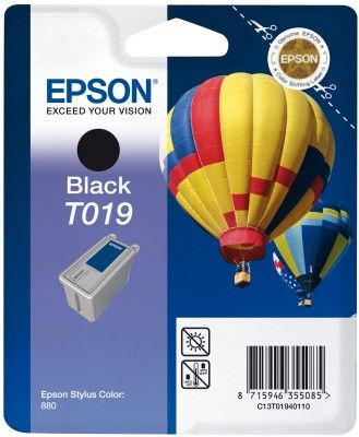 T019 BLACK INK CARTRIDGE W AM TAG