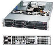 "SUPERMICRO 2U, 10x 3 5"""" Hot-swap"