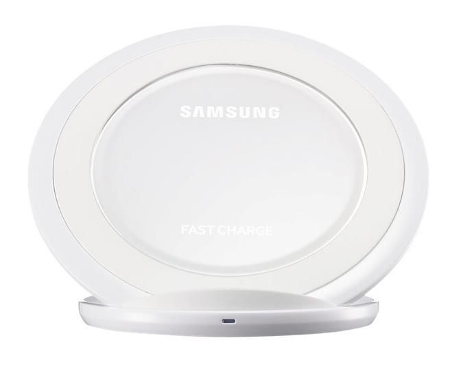 Wireless Charger Stand White
