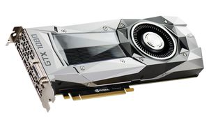 GeForce GTX 1080 Founders Edition Grafikkort,  PCI-Express 3.0, 8GB GDDR5X, DL-DVI-D, HDMI, 3xDP, Pascal