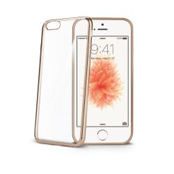 CELLY (LASER COVER IPHONE SE GOLD) (BCLIPSEGD)