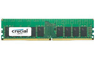 Crucial 16GB 2400MHz DDR4 C17 DR x4  ECC Registered DIMM 288pin