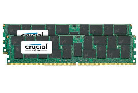 Crucial 2x32GB 2400MHz DDR4 CL17 QR x4 Load Reduced DIMM 288pin