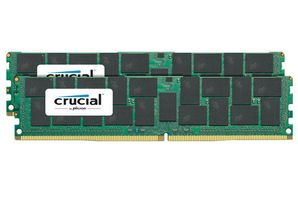 CRUCIAL 64GB KIT 32GBX2 DDR4 2400 MT/S CL17 QRX4 LOAD REDCD DIMM 288PIN (CT2K32G4LFQ424A)