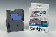 BROTHER P-Touch svart/ grön 12 (TX-731)