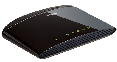 D-LINK DES-1005D SOHO SWITCH 10/ 100MBPS TP PORTS IN (DES-1005D)