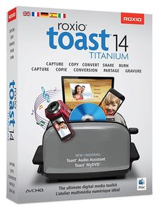 COREL TOAST 14 TITANIUM LICENSE 5-50 IN (LCT14TML1)