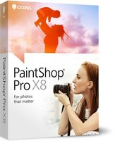 PAINTSHOP PRO X8 CORP ED 5-50 EN/ DE/ FR/ ES/ IT/ NL IN