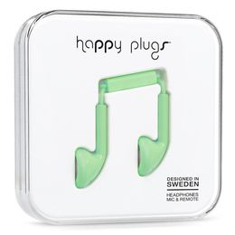 HAPPY PLUGS Happy Plugs Earbud Mint