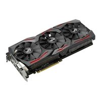 GF STRIX-GTX1080-8G-GAMING 8GB GDDR5X 1898MHZ DVI HDMI DPX3 IN