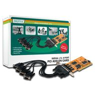 2XSERIAL INTERFACE CARD PCI 4 PORT 4X DB9 M              IN ACCS