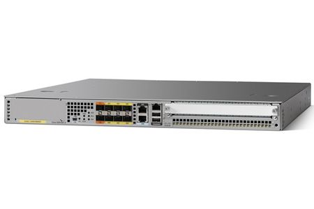 CISCO ASR1001-X CHASSIS 6 BUILT-IN GE DUAL P/S 8GB DRAM  IN CTLR (ASR1001-X)