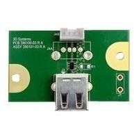 3D SYSTEMS CUBEPRO USB HOST PCB . CABL (403092-00)