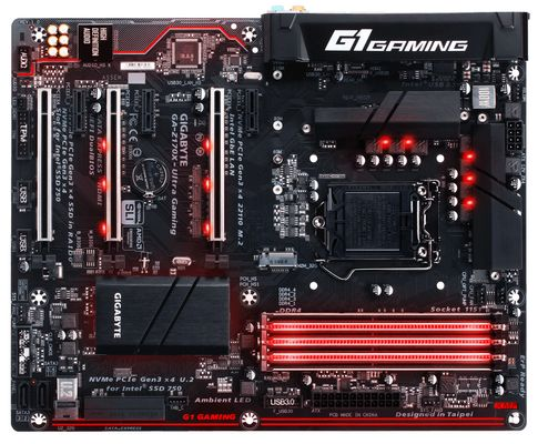 GA-Z170X-ULTRA GAMINGS1151 Z170 ATX GLN+U3.1+M2 SATA 6GB/S DDR4 IN