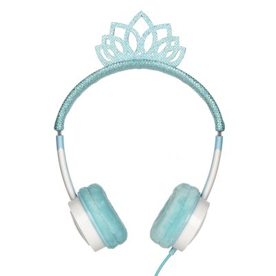 LITTLE ROCKERS COSTUME HEADPHONES ICE PRINCESS TIARA