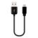 DELEYCON deleyCON Micro USB to USB Cable - black - 0,15m