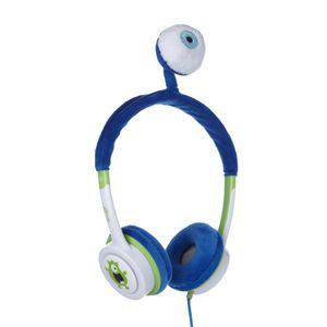 IFROGZ LITTLE ROCKERS COSTUME HEADPHONES LIME BLUE MONSTER (IFLRCH-LMN)