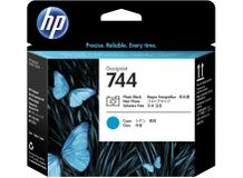 HP HP 744 Printhead Photo Black & Cyan