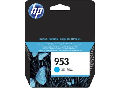 HP Ink/953 Blister Original Cyan (F6U12AE#301)