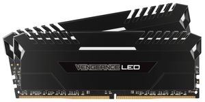 V 32GB DDR4 White LED 2x288, 2666MHz