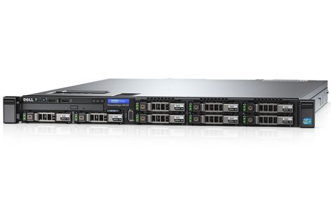 DELL PowerEdge R430 E5-2603v4 4x3_5_ 8GB 1TB Bezel DVDRW On-BoardLOMQP PERCH330 iDRAC8 Exp 3YNBD (R430-0879)
