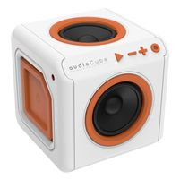 AudioCube portable white