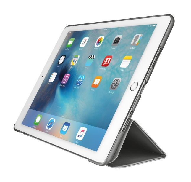 Trust Urban Aurio Smart Folio - Lommebok for nettbrett - grå - for Apple 9.7-inch iPad Pro (21100)