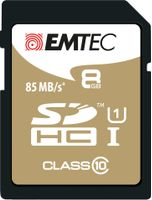 EMTEC SD Card 8GB SDHC (CLASS10) (ECMSD8GHC10GP)
