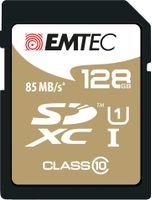 SD Card 128GB SDXC (CLASS10) Gold+ Kartenblister
