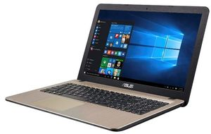 X540LA-XX117T,  Notebook Intel® Core™ i5-5200U Prozessor (2,2 GHz) 4 GB DDR 3 39,6 cm (15,6 Zoll) Deutsch