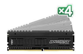 32GB KIT (8GBX4) DDR4 3000 MT/S PC4-24000 CL15 DRX8 UNBDIMM 288P MEM