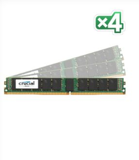 128GB KIT(32GBX4)DDR4 2400 MT/S PC4-19200 CL17 DRX4ECCREGDIMM288 MEM