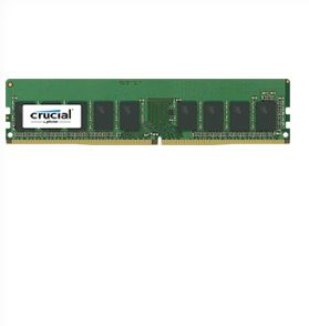 16GB DDR4 2400 MT/S (PC4-19200) CL17 DR X8 VLP ECC UDIMM 288PIN