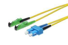 DIGITUS FIBER OPTIC PATCH CORD 1M E2000-SC DIAMOND SM 8 APC CABL