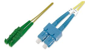 DIGITUS FIBER OPTIC PATCH CORD 2 METER E2000-SC SM 8 APC CABL