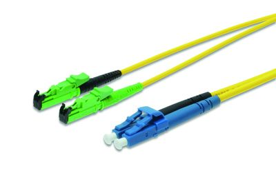 DIGITUS FIBER OPTIC PATCH CORD 15M E2000-LC DIAMOND SM 8 APC CABL