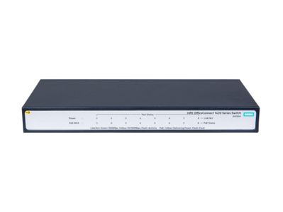 Hewlett Packard Enterprise HPE 1420 8G PoE+64W Switch (JH330A#ABB)