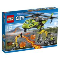 City 60123 Volcano Supply Helicopter