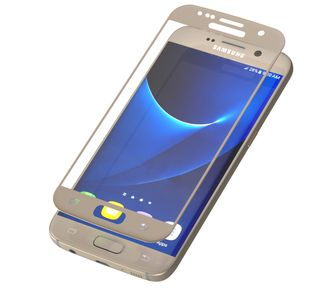 ZAGG / INVISIBLESHIELD INVISIBLESHIELD GLASS CONTOUR SCREEN SAMSUNG GALAXY S7 GOLD (GS7CGS-GD0)