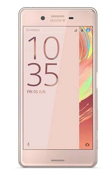 Xperia X Performance,  Rose Gold Android, F8131