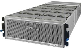 4U60 Storage Enclosure 600TB 512e